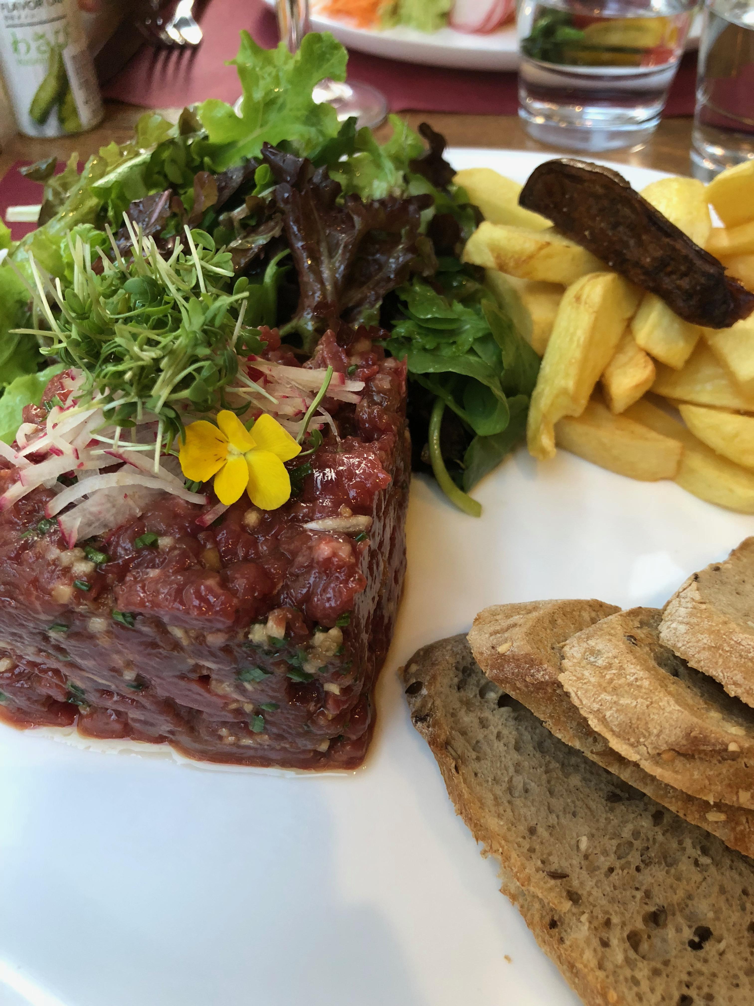 Foodetective Un Bistrot Francais Avec Une Touche De